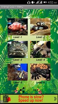 Animal Quiz Game poster