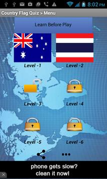 World Flags - Quiz Game poster