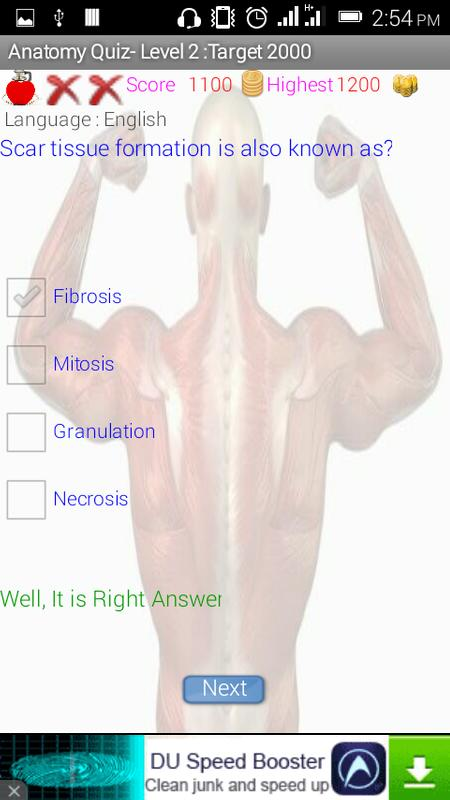 Human Anatomy Quiz Game Apk Download Free Education App For