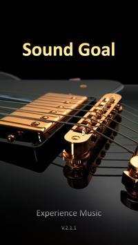 Sound Goal - Radio poster