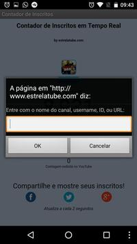 Contador de Inscritos apk screenshot