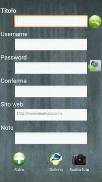 HelpPWD Password apk screenshot