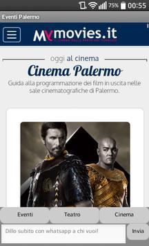 Eventi Palermo poster