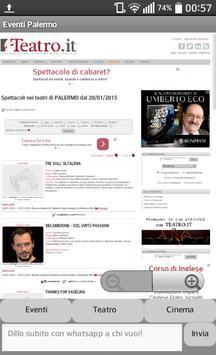 Eventi Palermo screenshot 2