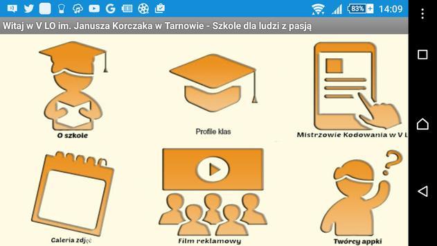 V LO Tarnów oferta edukacyjna poster