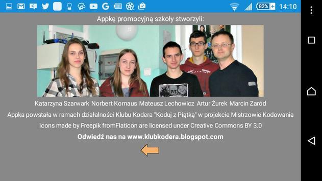 V LO Tarnów oferta edukacyjna apk screenshot