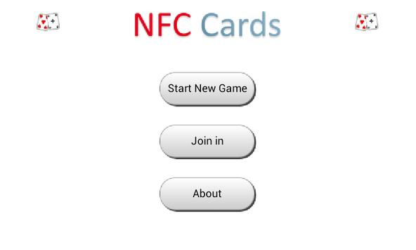 NFC Cards poster
