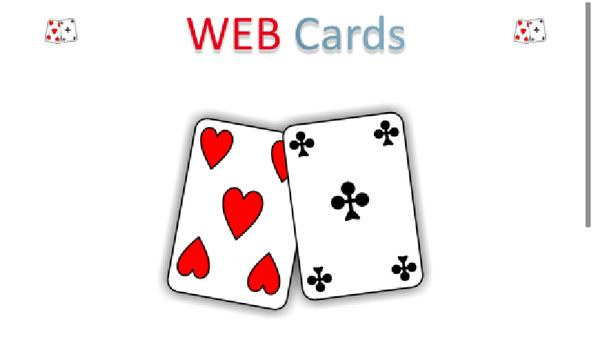 WEB Cards poster