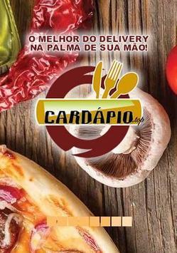 Cardápio.top Delivery poster