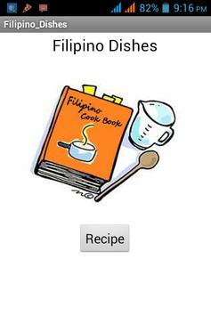 Filipino-Dishes apk screenshot