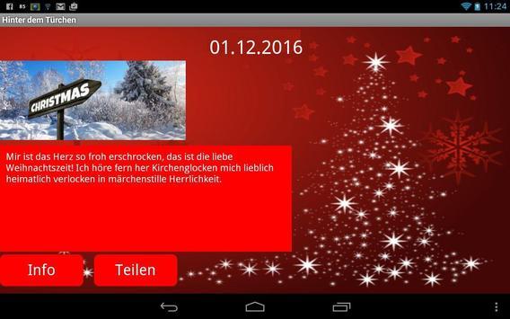 Adventskalender screenshot 1
