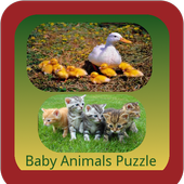 Baby Animals Puzzle icon