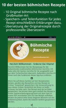 Tschechische Rezepte (Deutsch) poster