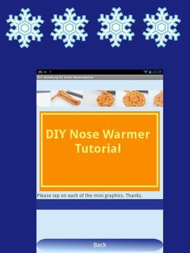 DIY Nose Warmer - English apk screenshot