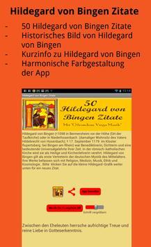 Hildegard von Bingen Zitate screenshot 3