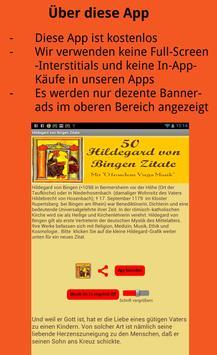 Hildegard von Bingen Zitate apk screenshot