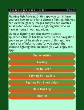 Siamese Fighting Fish Guide screenshot 1