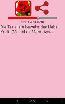 Zitate zur Liebe screenshot 4