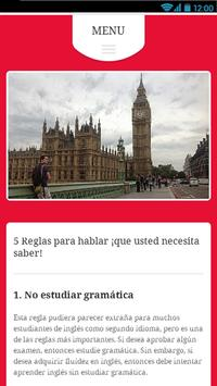 Aprender Ingles Gramatical apk screenshot