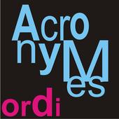 Lexique des acronymes icon
