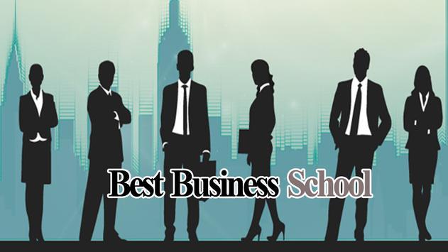 Best Business School poster