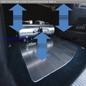 control de suspension de aire icon