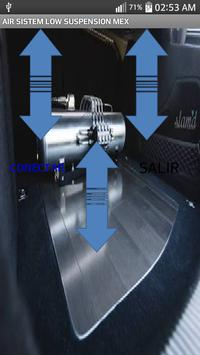control de suspension de aire poster