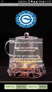 GLF  Tea USA poster