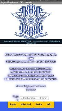 Cek  Pajak Kendaraan DKI Jakarta poster