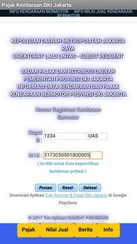 Cek  Pajak Kendaraan DKI Jakarta screenshot 1