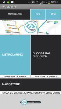 metroLArino poster