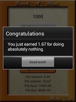 Break A Wage apk screenshot