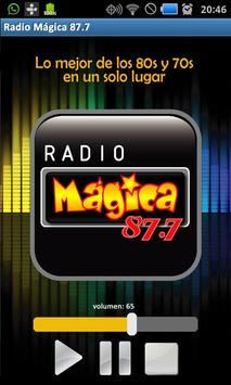 Radio Mágica 87.7 poster