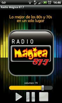 Radio Mágica 87.7 screenshot 1