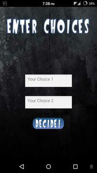 Choice Maker apk screenshot