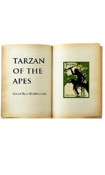 Tarzan of the Apes audiobook poster