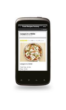 Famous Lasagna Recipes! apk screenshot