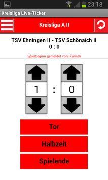 Kreisliga Liver-Ticker screenshot 2