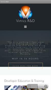 Virtrics R&D poster