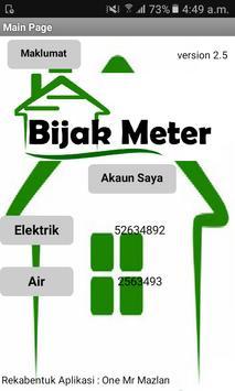 Bijak Meter poster