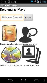 Diccionario Maya Yucateco poster