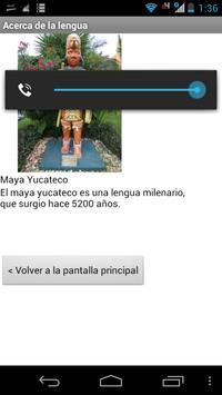 Diccionario Maya Yucateco apk screenshot