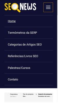 SEO News Brasil screenshot 1