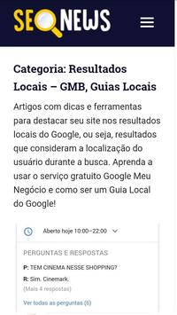 SEO News Brasil screenshot 2