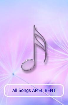 All Songs AMEL BENT apk screenshot