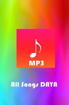 All Songs DAYA poster