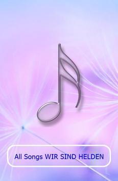 All Songs WIR SIND HELDEN poster