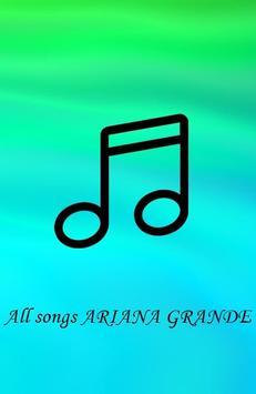 All Songs ARIANA GRANDE Mp3 apk screenshot