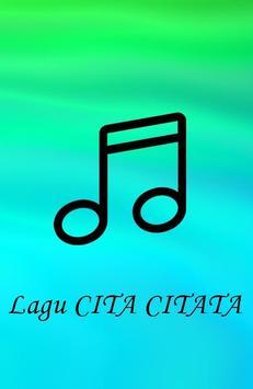 Lagu CITA CITATA poster