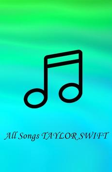 All Songs TAYLOR SWIFT Mp3 apk screenshot